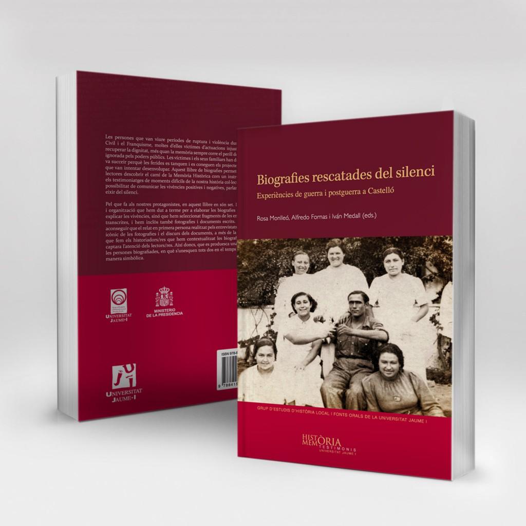 Veta Visual, coberta «Biografies rescatades del silenci» (Col. Testimonis UJI)