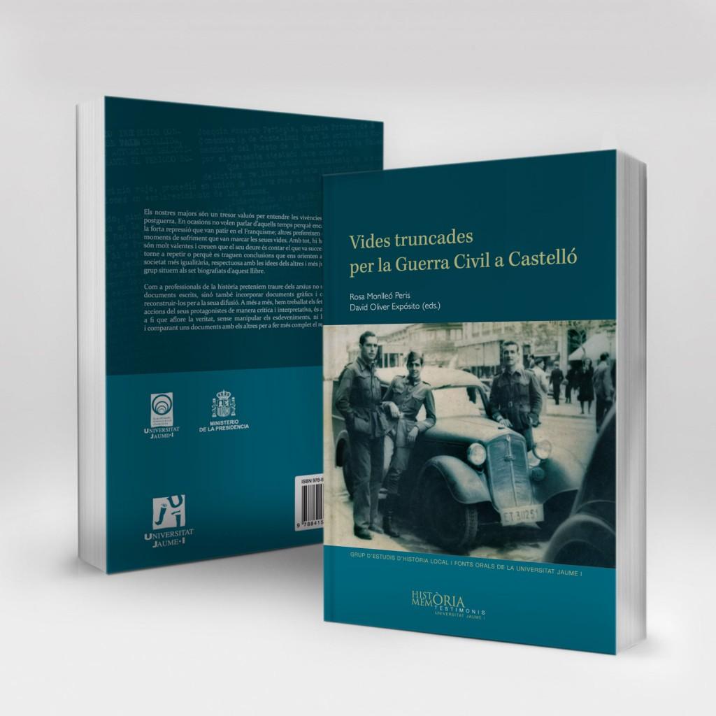 Veta Visual, coberta «Vides truncades per la Guerra Civil a Castelló» (Col. Testimonis UJI)