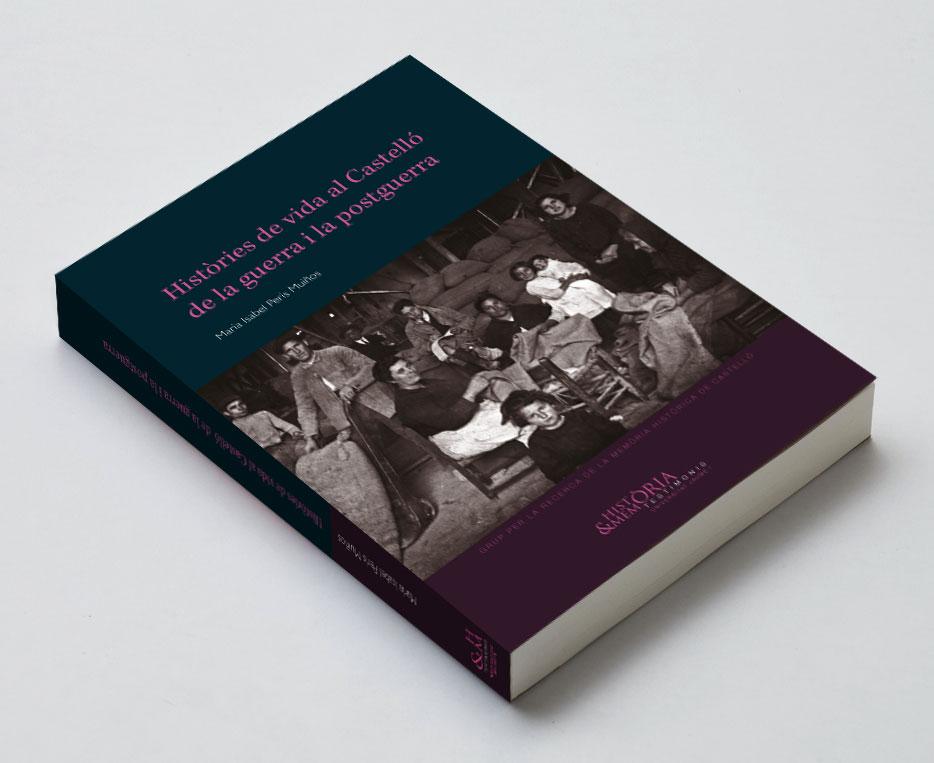 Veta Visual, coberta d'«Històries de vida al Castelló de la guerra i la postguerra» (UJI)