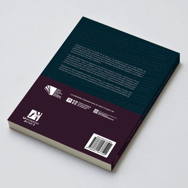 Veta Visual, contracoberta d'«Històries de vida al Castelló de la guerra i la postguerra» (UJI)