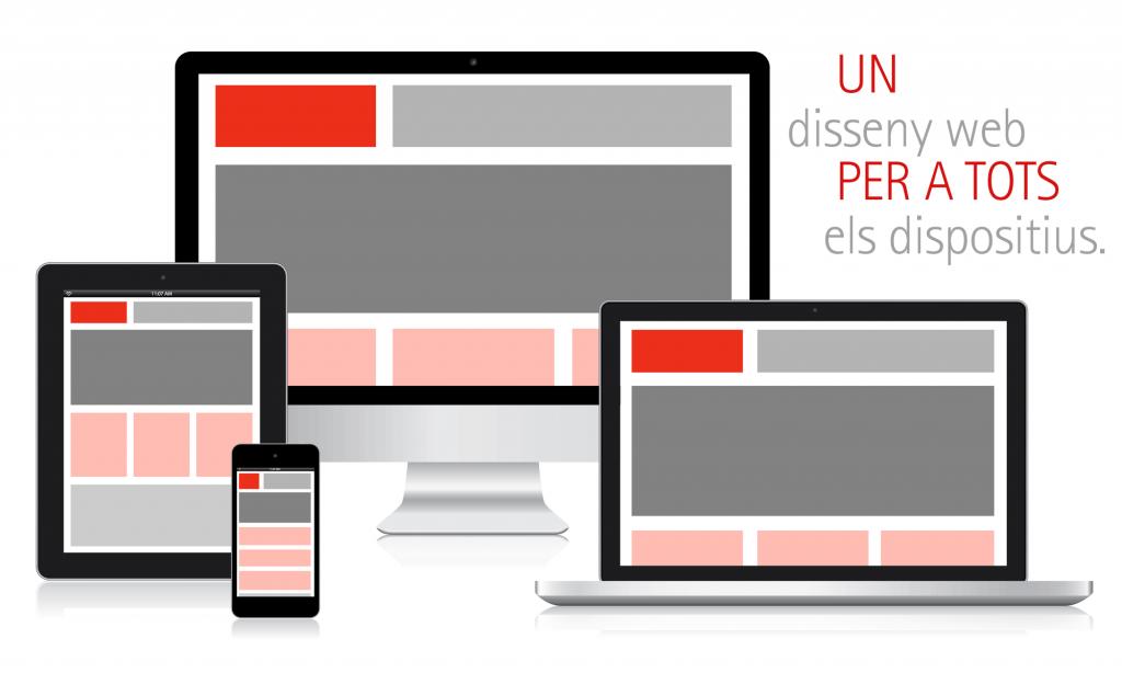 Veta Visual, un disseny web per a tots els dispositius
