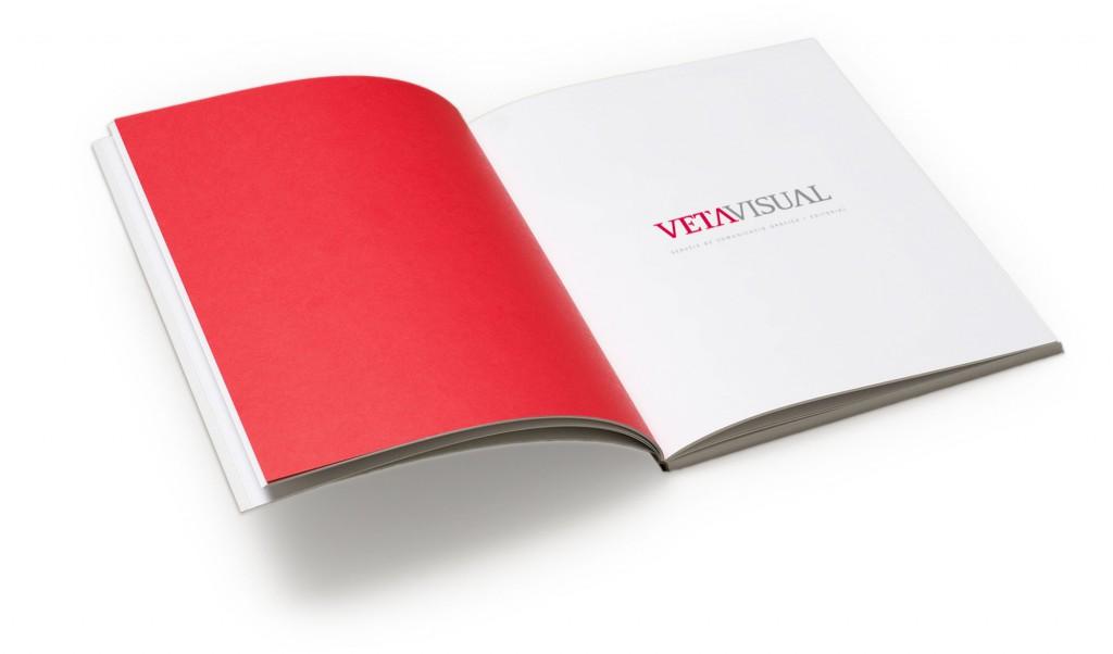 Catàleg Veta Visual, disseny gràfic a Castelló